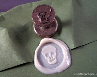 Skull Wax Seal