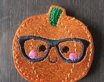 UNCUT Nerdy pumpkin vinyl Feltie