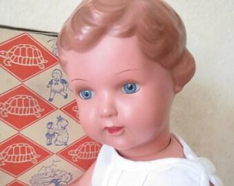 Vintage German Doll 50s
