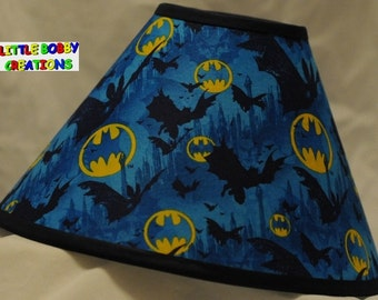 Super Heros Batman Fabric Lamp Shade You By