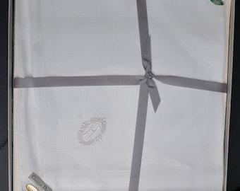 "Vintage Christian Dior Handkerchiefs, Monogrammed with an ""H"" Paris New York, Irish Linen Monogrammed ""H"", Christian Dior Hankies, H Hankie"