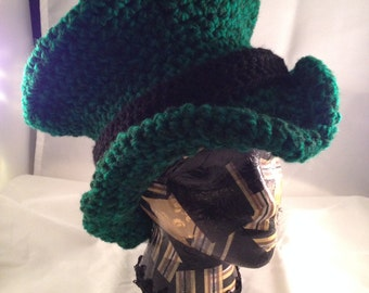 St. Patrick's Day Crochet Top Hat