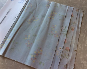 Quilt fabric, scraps, destash, Lecien, Mrs. Marchs' Dandelion, 4 PC set