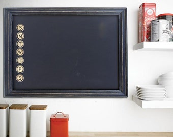 "Oversized Magnetic Chalkboard, 50"" x 34"" comes with ArtMagnets!"