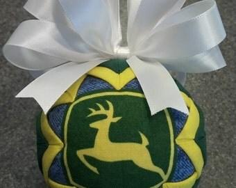 Handmade John Deere Ornament