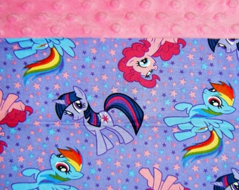 Nap Mat Cover / Toddler Cot Cover - My Little Pony - Different Cover Options Available