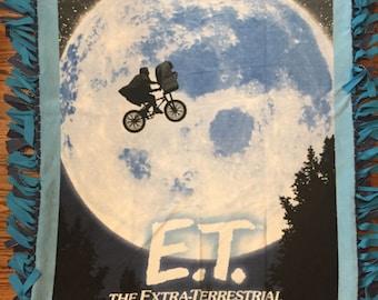 E.T. Fleece Tie Blanket