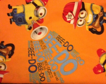 Dog bandana, minion fireman