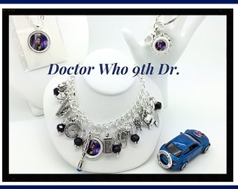 Doctor Who 9th Dr. Inspired Jewelry Bracelet by Uberjewelrydesigns