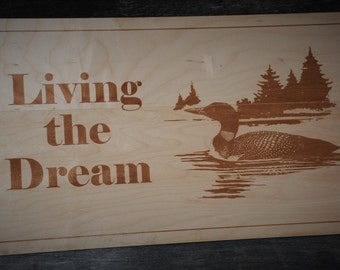 Hard Maple Custom Made Sign Door Sign Room Sign Personalized Laser Engraved Custom Sign