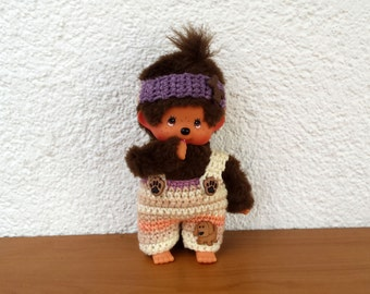 "Monchichi trousers and headband ""dog"" for Monchichi 20cm"