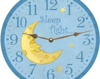 Sleep Tight Moon Clock