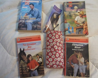 Four Vintage Harlequin Romance Novels -- Love On the Range!  Set # 9 -
