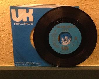 10CC Headline Hustle Vintage Vinyl 45 Promotional Record 1973 UK Records London Records 45-49019 DJ Copy