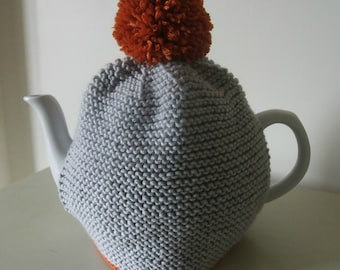 Knitting Pattern for Pom Pom Tea Cosy