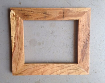 8x10 Dark Oak Wood Picture Frame