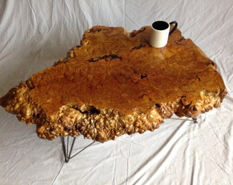 live edge coffee table burl live edge table wood slab