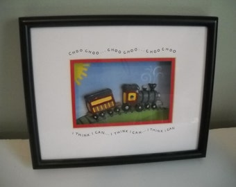 Children's Train Picture