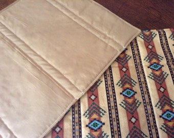 Handmade set of 4 quilted south western design place mats.
