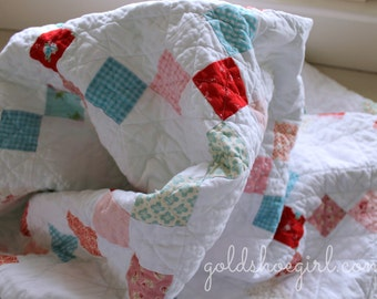 Custom Quilt ~ Made to Order Patchwork Quilt - Design Your Own Quilt -   Throw or Lap Size Patchwork Quilt
