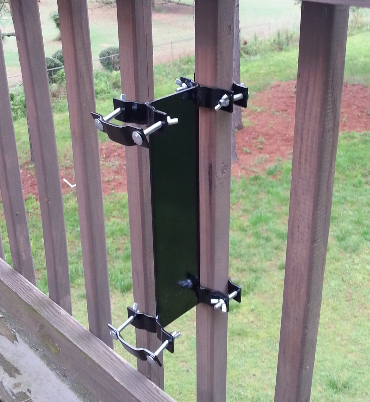 Clamp On Flag Pole Holder : Universal pole mount