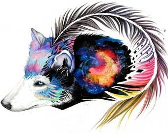 Galaxy Wolf- -- original