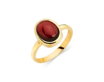 14K Gold Garnet Ring, Garnet Ring, Gold Ring, Garnet Jewelry, Gold Jewelry, Oval Garnet, Fancy Ring, Fancy Jewelry, Garnet, Ring