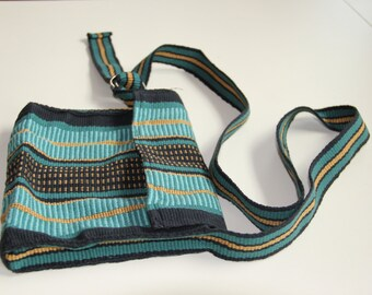 Cross Body Bag in Teal