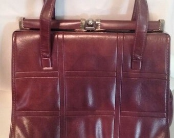 """brown purse with double straps 18.5 L, purse is 11.5"""" w  9"""" h."""