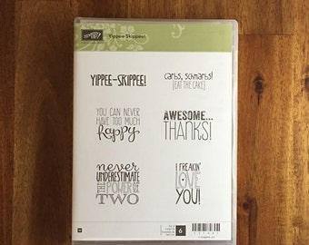 Stampin' UP! Yippee-Skippee! - FREE SHIPPING!