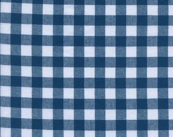 """1/2"""" Gingham in Teal- Checkers by Cotton + Steel"""