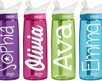 Camelbak Water Bottle with Personalized Custom Name