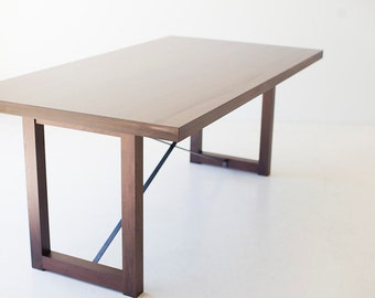 dining table midcentury modern dining table modern dining table walnut dining