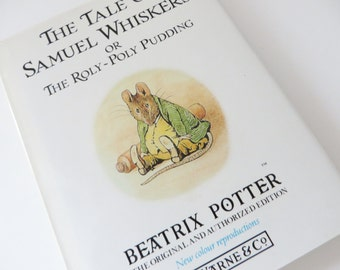 Beatrix Potter 1988 Vintage book, The Tale of Samuel Whiskers