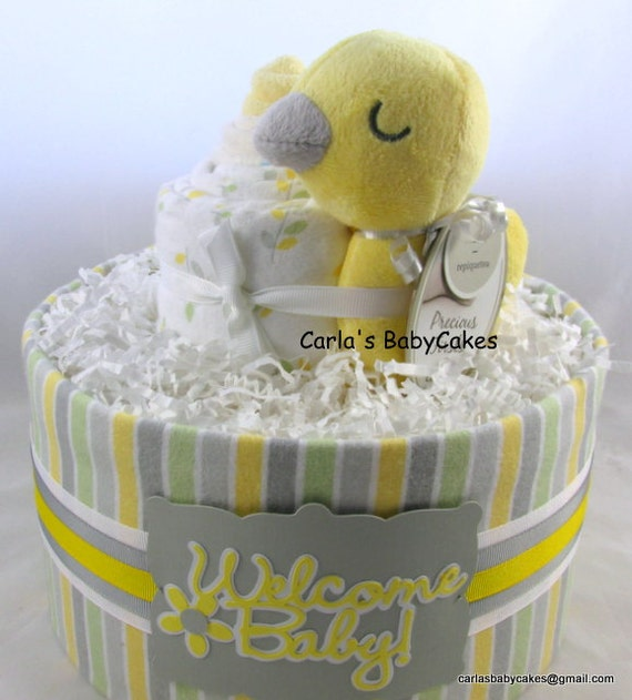 Baby Gifts Unique Uk : Baby diaper cake shower gift new mom unique