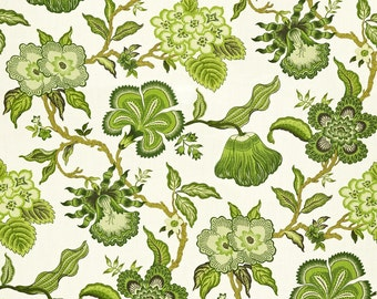 Hot House Flowers in Verdance Pillow - This Listing is for One Pillow-Backing in your choice of color!