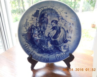BAREUTHER BAVARIA GERMANY Mother's Day Plate