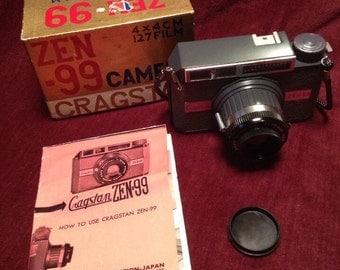 Vintage Cragstan Zen-99 Camera