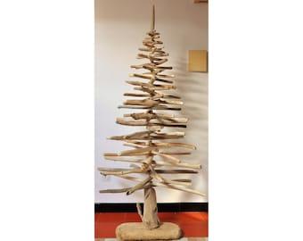 Albero di Natale con legni di mare - Driftwood Christmas Tree - 150 cm