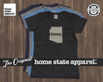 Arizona Home. T-shirt- Womens Cut