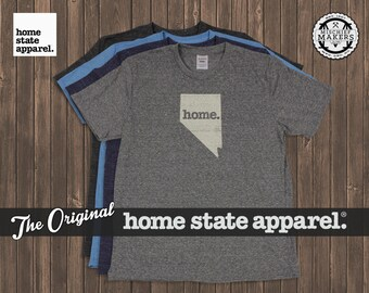 Nevada Home. Shirt- Men's/Unisex