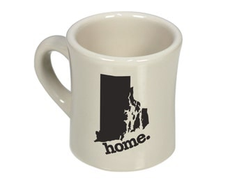Rhode Island home. Ceramic Coffee Mug