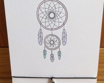Wish String Bracelet Friendship Bracelet Gift Dreamcatcher Charm