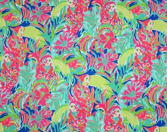 "18"" x 18"" Lilly Pulitzer Fabric Casa Banana"