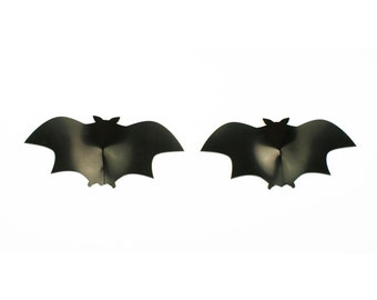 Halloween Bat Shaped Latex Nipple Pasties