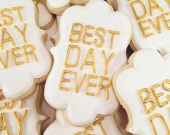Engagement Sugar Cookies... Wedding Sugar Cookies... Bridal Shower Sugar Cookies...Bachelorette Sugar Cookies...Party Cookies