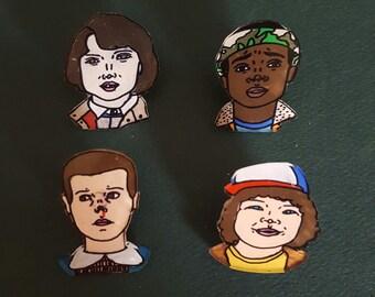 Stranger Things pin pack