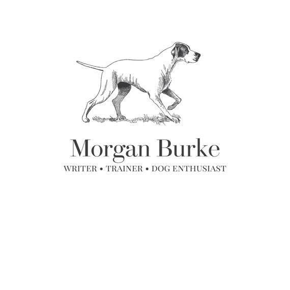 vintage dog logo