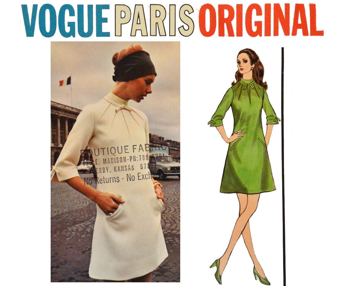 Designer dress sewing patterns gallery craft decoration ideas 1960s vogue pattern vogue 2341 vogue paris original molyneux 60s 1960s vogue pattern vogue 2341 vogue jeuxipadfo Choice Image