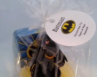 Batman Kids Soap with Toy & Magic Washcloth